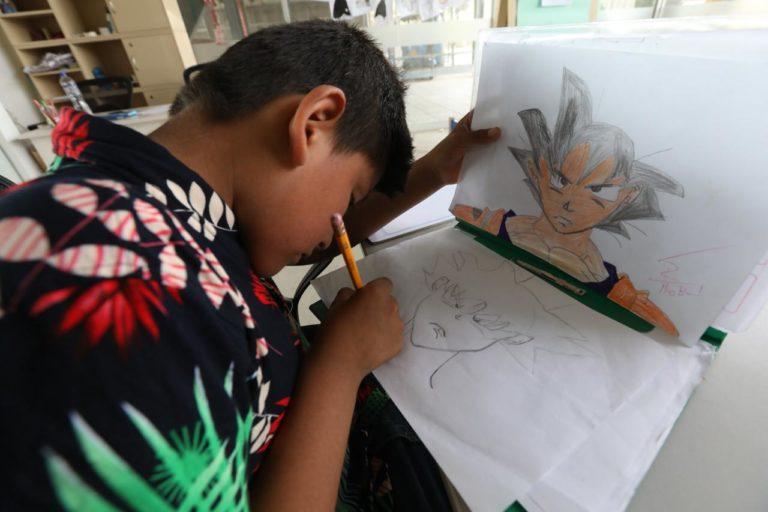 Municipalidad de Lima ofrece taller de dibujo manga para niños y adolescentes