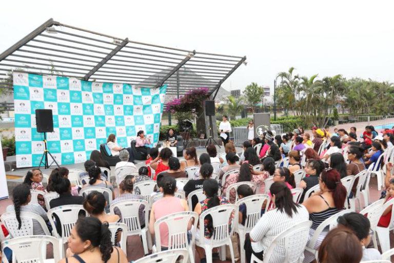 Día de la Mujer: Foro en el Parque de la Muralla