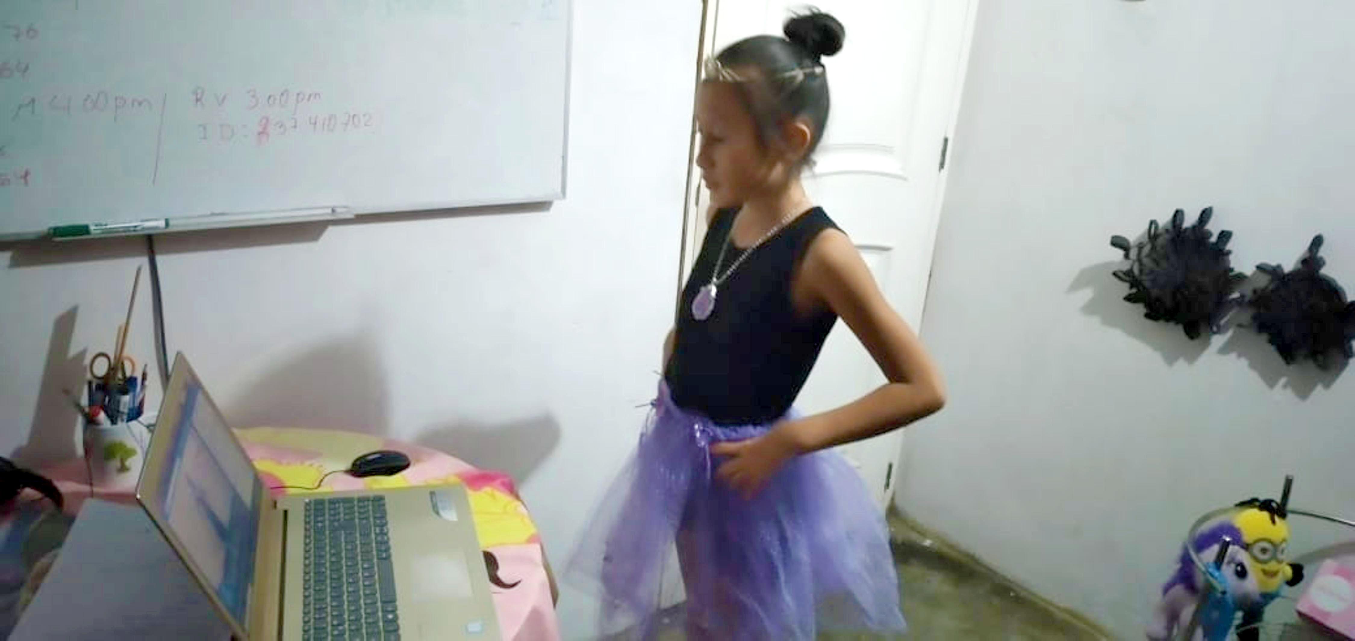 Clases virtuales de ballet