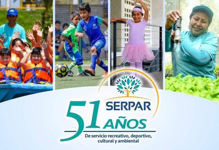 Serpar: 51 años promoviendo recreación en los parques de Lima
