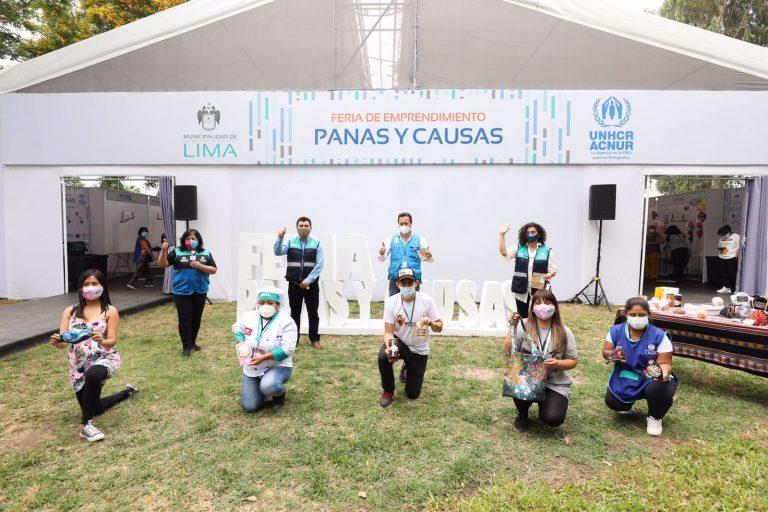 MML Y ACNUR realizan feria ´Panas y Causas´ en Club zonal Huáscar