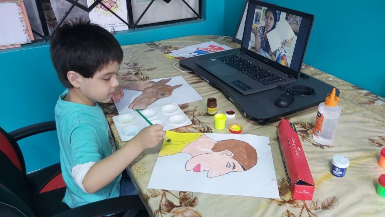 Día Mundial del Arte: Serpar promueve actividades artísticas en sus escuelas culturales virtuales
