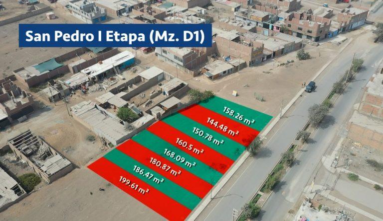 Serpar subastará 49 terrenos en Carabayllo, El Agustino y Ate