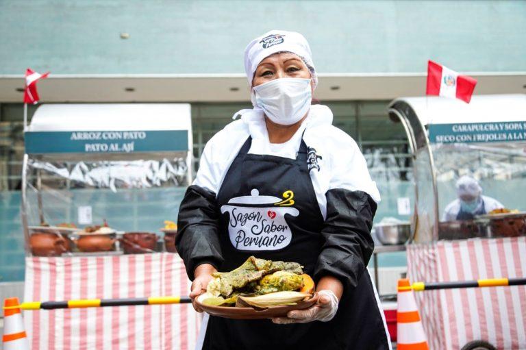 Serpar presenta feria gastronómica en club zonal Lloque Yupanqui