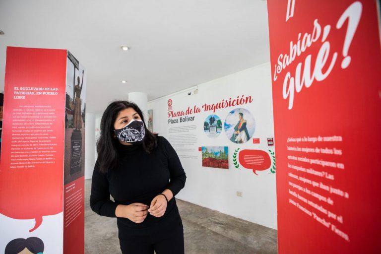 MML presenta exposición sobre historia de la independencia en clubes zonales de Lima